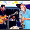 George Benson and Frank Morgan